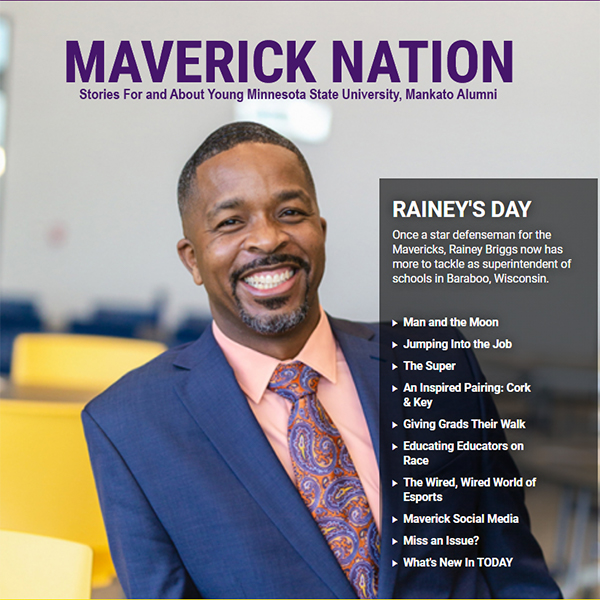 'Tricked' into a calling to education – Maverick Nation Summer 2021